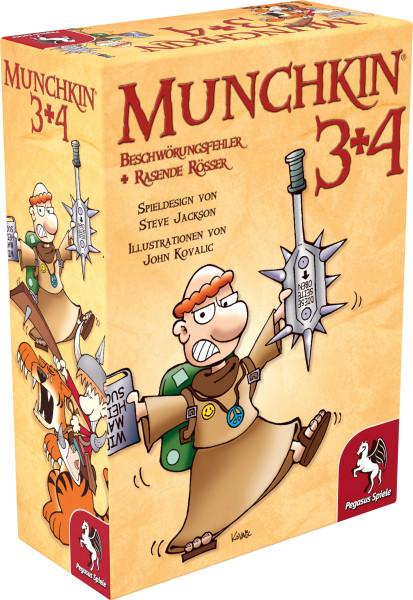 Munchkin 3+4 1