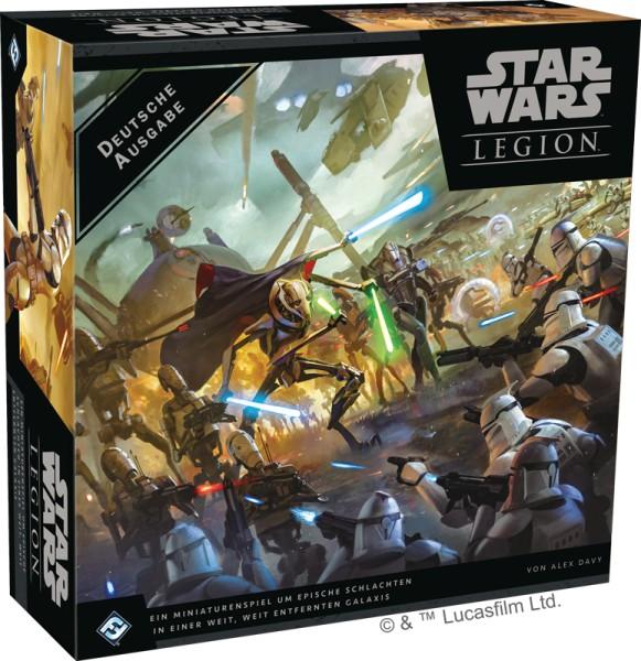 Star Wars: Legion - Clone Wars - Grundspiel - Deutsche Ausgabe