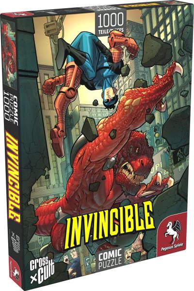 Puzzle: Invincible (Invincible vs. Dinosaurus), 1.000 Teile 1