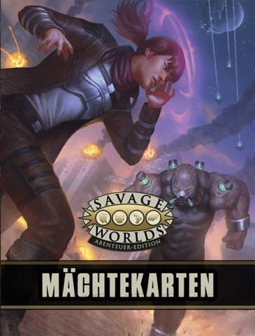 Savage Worlds: Mächtekartendeck
