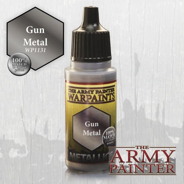Warpaints: Gun Metal, Metallics 18 ml (15,28 €/100 ml)