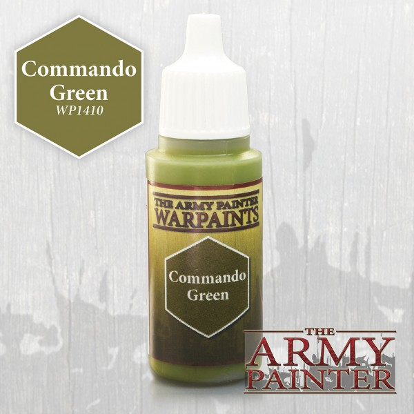 Army Painter Commando Green