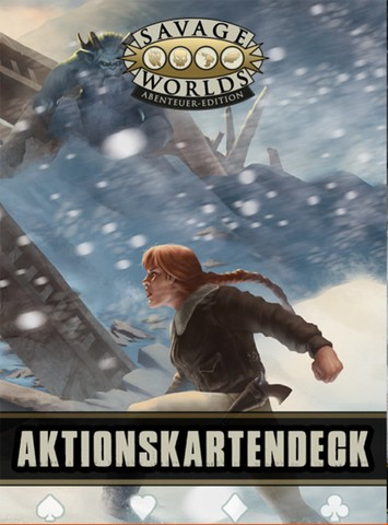 Savage Worlds: Aktionskartendeck