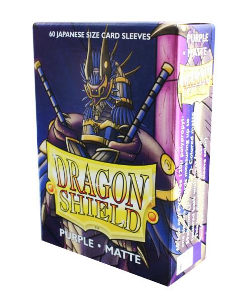 Dragon Shield: Small Sleeves - Japanese Purple Matte (60 Sleeves)