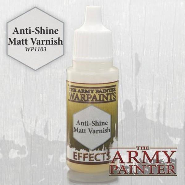 Army Painter Anti-Shine Matt Varnish