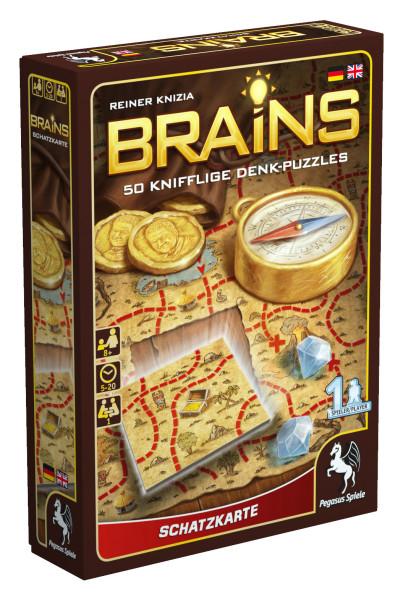 Brains - Schatzkarte 1