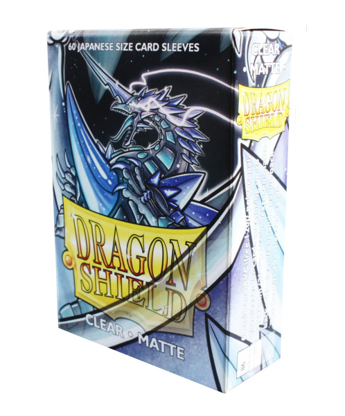 Dragon Shield: Small Sleeves - Japanese Clear Matte (60 Sleeves)