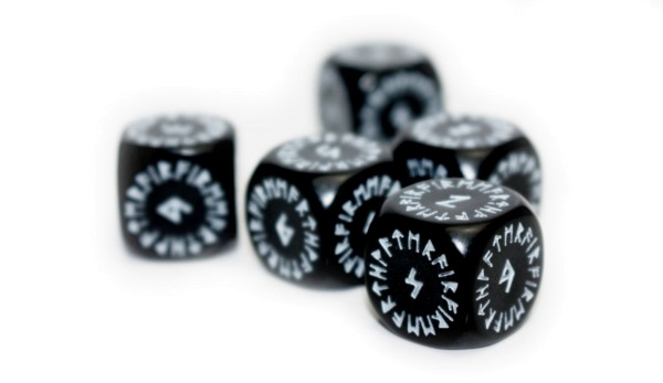 Runenwürfel-Set: