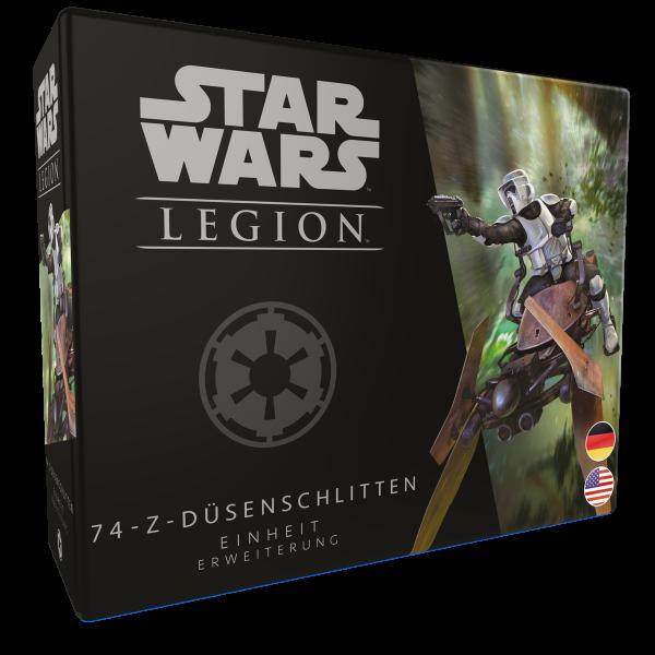 Star Wars: Legion - 74-Z-Düsenschlitten - Einheit - Erweiterung