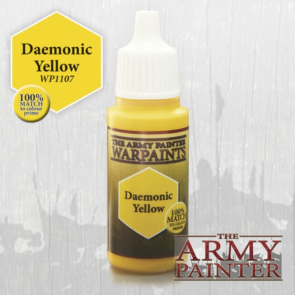 Army Painter Daemonic Yellow