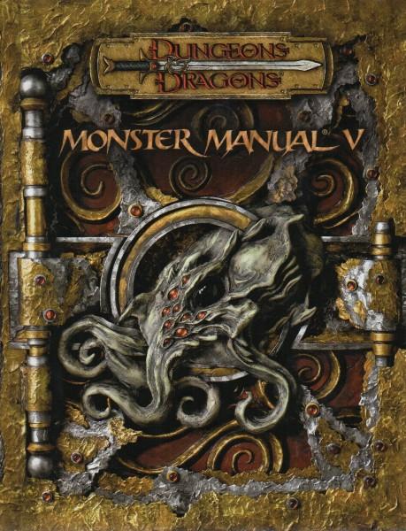 Dungeons & Dragons: MONSTER MANUAL V f