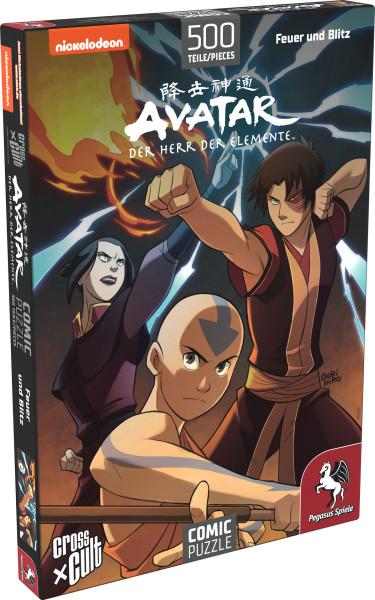 Puzzle: Avatar - Der Herr der Elemente (Feuer und Blitz), 500 Teile 1