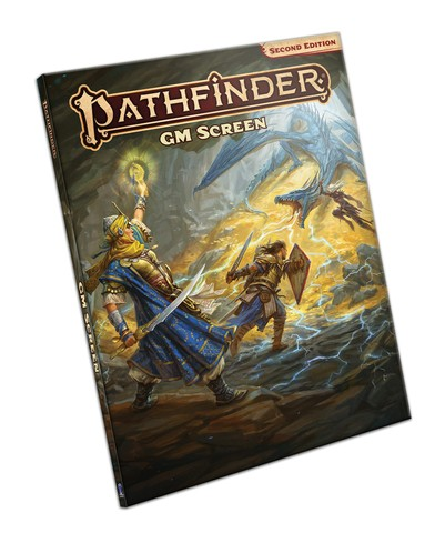 Pathfinder GM Screen - Second Edition (Eng.)
