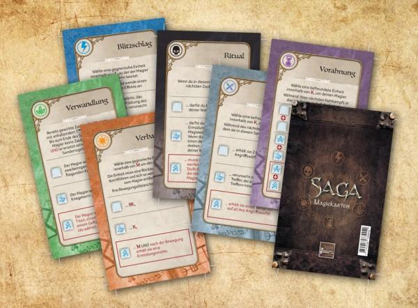 Saga: Ära der Magie - Magiekarten