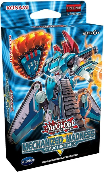 Yu-Gi-Oh! - Mechanized Madness - Structure Deck