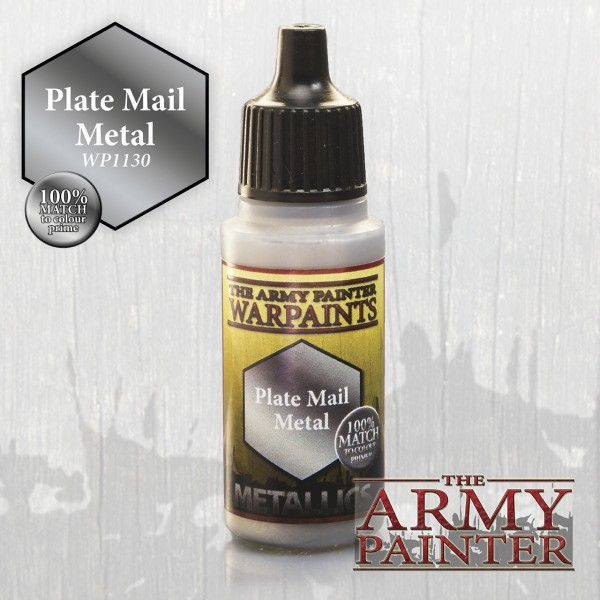 Warpaints: Plate Mail Metal, Metallics 18 ml (15,28 €/100 ml)