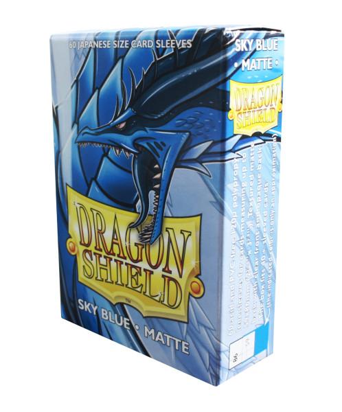 Dragon Shield: Small Sleeves - Japanese Sky Blue Matte (60 Sleeves)