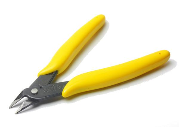 Seitenschneider, Drahtschneider (gelber Griff)