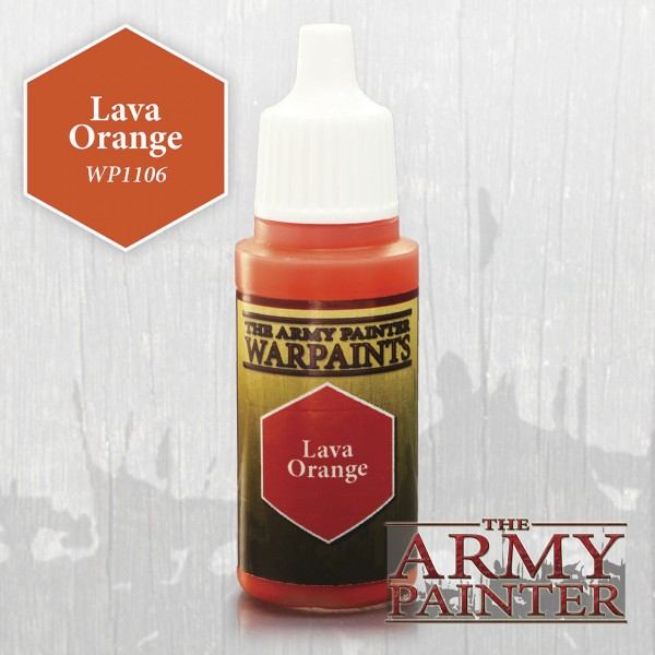 Army Painter Lava Orange