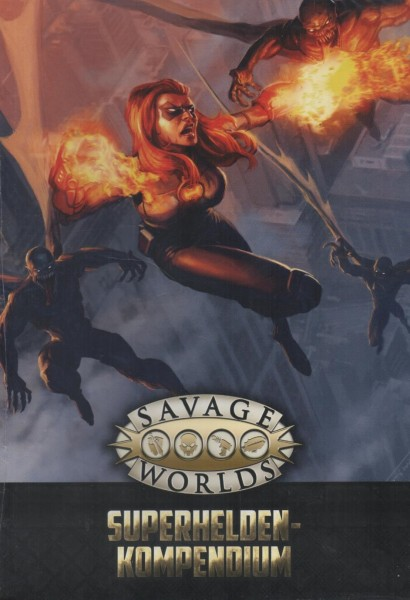 Savage Worlds: Superhelden-Kompendium f