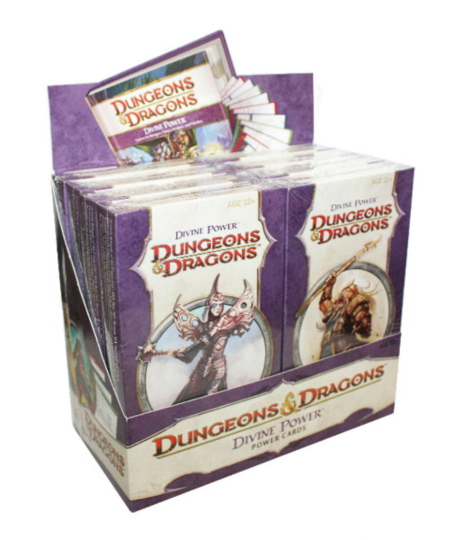 Dungeons Dragons Divine Power - Display