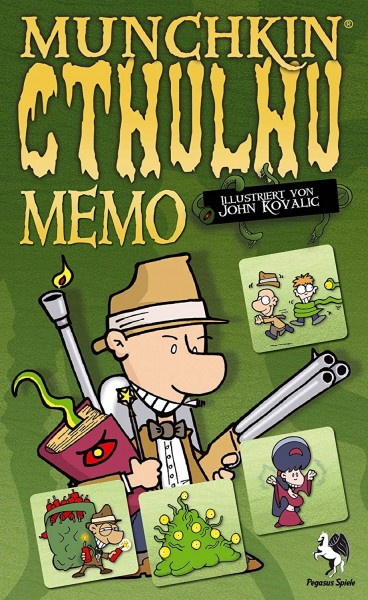 MUNCHKIN: CTHULHU - MEMO