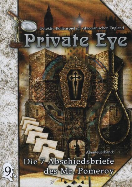 Private Eye Abenteuer 9 - Die 7 Abschiedsbriefe des Mr. Pomeroy f