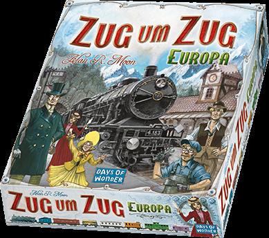 Zug um Zug - Europa - Grundspiel 1