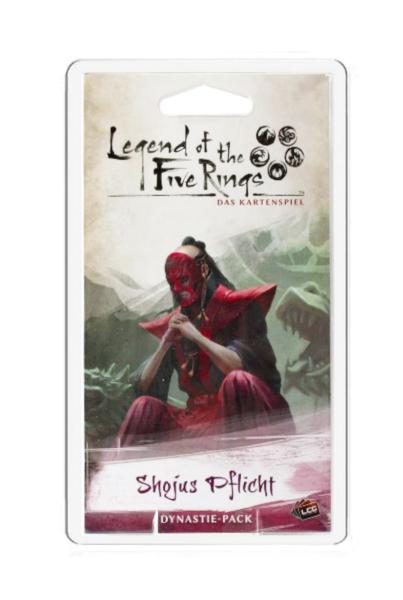 Legend of the 5 Rings: Shojus Pflicht - Dynastie Pack