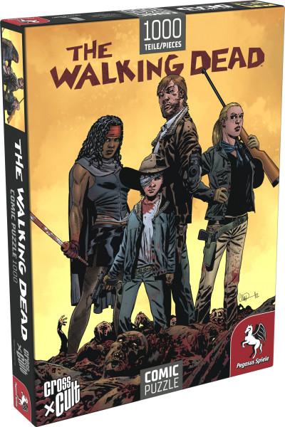 Puzzle: The Walking Dead (Die Zombiejäger), 1.000 Teile 1