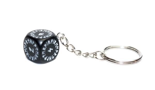 Schlüsselanhänger Runenwürfel