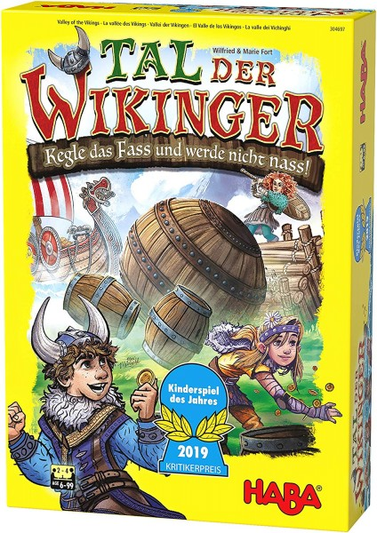 HABA 304697 - Tal der Wikinger, Kinderspiel des Jahres 2019 f