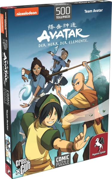 Puzzle: Avatar – Der Herr der Elemente (Team Avatar), 500 Teile 1