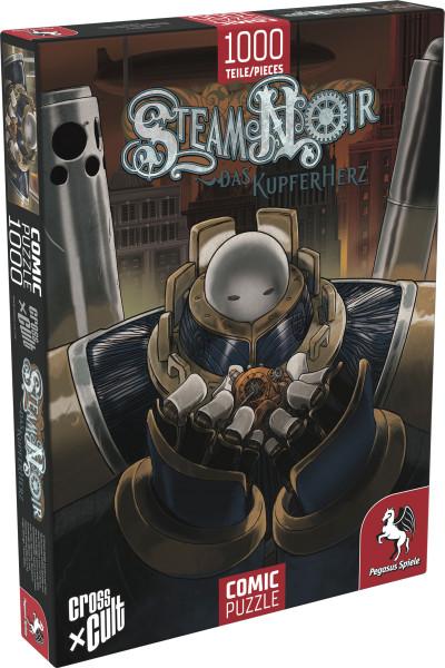 Puzzle: Steam Noir (Das Kupferherz), 1.000 Teile 1