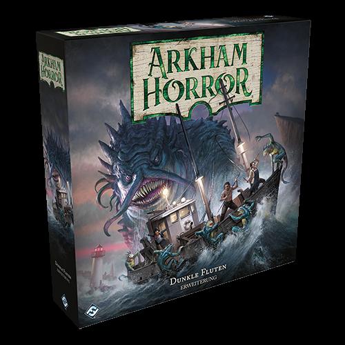 Arkham Horror 3.Ed. - Dunkle Fluten - Erweiterung 1