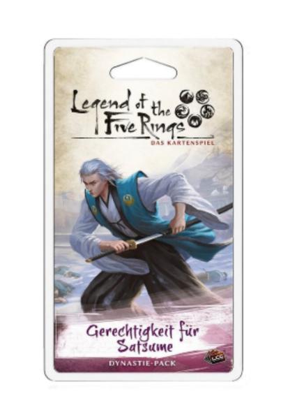 Legend of the 5 Rings: Gerechtigkeit für Satsume - Dynastie Pack