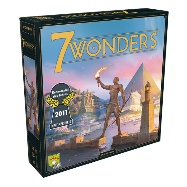 7 Wonders (neues Design) • Grundspiel 1
