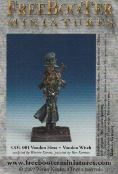 COL 001 Voodoo Hexe