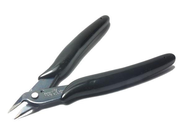 Seitenschneider, Drahtschneider (schwarzer Griff)
