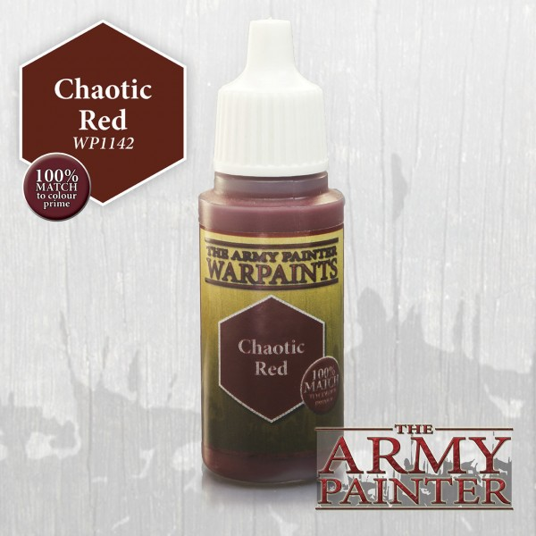 Army Painter Chaotic Red